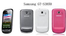 "SAMSUNG CORBY 2 GENIO 2 S3850 WIFI 3.2"" Capacitive TouchScreen Camera Cell Phone"