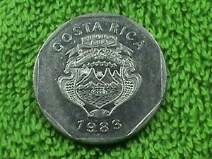 COSTA RICA 10 Colones 1983