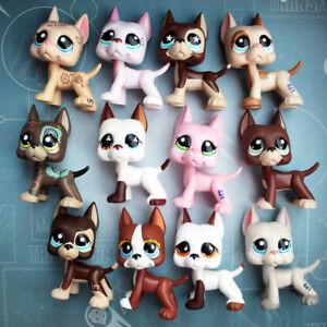 5 pcs lot Littlest Pet Shop Dog LPS Great Dane Random toys girl Christmas gift