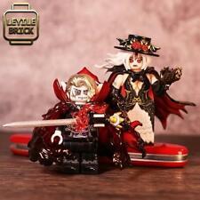 ⎡LEYILE BRICK⎦ Pre-order Custom Halloween Vampire & Vampiress Minifigure