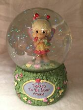 Collectable Precious Moments Water Globe/Music Box (Tickled To Be Your Friend)