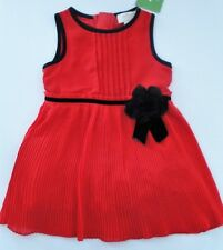 d4076bcf5 Kate Spade Little Girls Toddlers 4t Red Christmas Holiday Party Dress