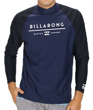 NEW +TAG BILLABONG MENS (XL) TRI UNITY WET SHIRT RASH VEST RELAX FIT LONG SLEEVE