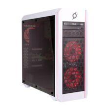 Loop StormForce Ventus ATX Tempered Glass Extreme Gaming Case, LPGA001W, White