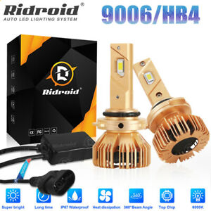 9006 HB4 LED Headlight 240W 24000LM Low Beam Fog Light Bulbs 6000K Xenon White