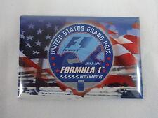 2006 Formula-1 USGP Event Collector Magnet USA Grand Prix of Indianapolis