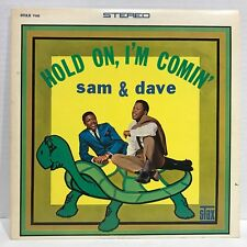 SAM & DAVE HOLD ON, I'M COMIN' STAX RECORDS STAX-708 STEREO EX / VG+