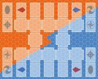 Yugioh 2-player Playmat - Neo Master Rule - Custom Neoprene Game Mat Mousepad