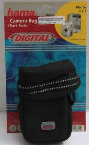 Hama DF 1 Compact Camera Shoulder Bag Track Pack Belt Shoulder - NEW C708