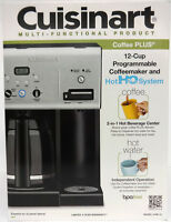 Cuisinart CHW-12 Coffee Plus 12-Cup Programmable Coffeemaker w/ Hot Water System