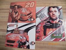 3 Tony Stewart/The Home Depot Pictures:  2 8X10 Pics & 1 NASCAR.com Superstore