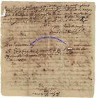 1783 Boston letter to British genl re Dr Thomas Bulfinch reimbursement for meds