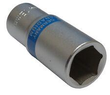 Douille de vissage 3/8  6 pans 18mm longue profonde qualité professionnelle CrV