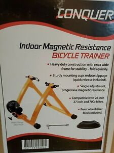 Conquer Indoor Single Speed Bicycle Cycling Trainer Exercise Stand 530-TRAINER