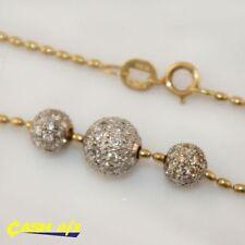 Chain Multi-Tone Gold 18k Fine Necklaces & Pendants
