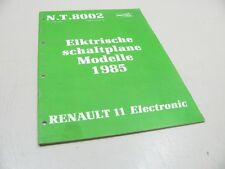 NISSAN A10 A12 1979 Werkstatthandbuch Reparaturhandbuch Repair  SM5E-0A12G0