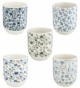Tasse, Teetasse,Porzellan, Vintage Landhaus, 6x8cm, 0.1l,Porzellantasse,Geschirr