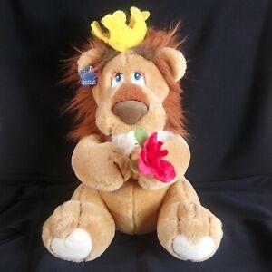 """Applause Lionheart 1988 Plush 14"""" Stuffed Animal Vintage"""