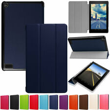 For Amazon Kindle Fire HD 10 8 7 9th Gen PU Leather Folio Stand Flip Smart Case
