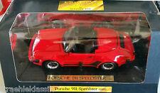 PORSCHE 911 Speedster 1989 Rojo Maisto 1:18 mai52120