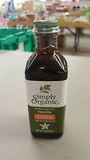 Vanilla Extract - Simply Organic - 4oz Glass Bottle - Expires 10-2021