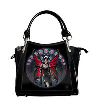 Anne Stokes Handbag Aracnafaria Fairy 3D Black Fantasy Gothic Lenticular Bag