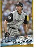 Randy Johnson 2020 Topps Decades Best 5x7 Gold #DB-72 /10 Diamondbacks