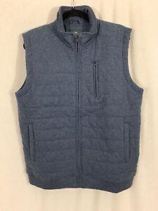 Rodd & Gunn New Zealand Goulds Road Top Vest Size Medium M Indigo Marle Blue NEW