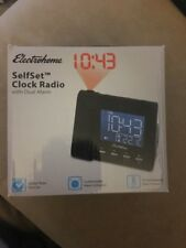 PLEASE READ Electrohome EAAC601 Projection Alarm Clock with AM/FM Radio