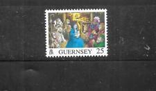 Guernsey Sc# 581-2 1996 Christmas Commemoratives Mnh-Mint Stamp Set Lot