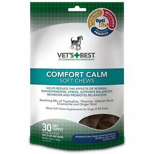 Vet's Best Comfort Calm Calming Soft Chews for Dogs 4.2 oz