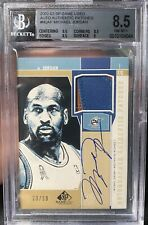 BGS 8.5/9 MICHAEL JORDAN 2002/03 SP Game Used Patch Auto #'d 23/50 JERSEY # 1/1
