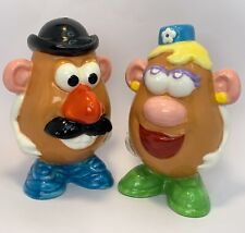 Vintage 1998 Hasbro Mr & Mrs Potato Head Salt Pepper Shakers 4.5""