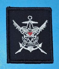 SEA  SCOUTS YEOMAN PATCH  ON BLUE -  POSSITION BADGE   -    6312