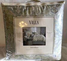 NOBLE EXCELLENCE MESSINA KING COMFORTER MINI SET $279.00 TAG! BRAND NEW!