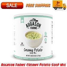 Augason Farms Creamy Potato Soup Mix 2 lbs 25 Servings No. 10 Can, Food Storage