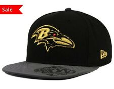 Baltimore Ravens Super Bowl Logo Edge Hat New Era NFL 9FIFTY Snapback Cap