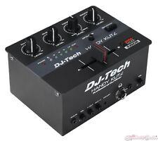DJ Tech HANDYKUTZ  2-channel DJ Scratch Mixer w/ Contactless Mini innoFADER Pro