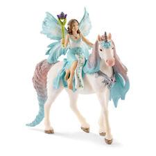 SCHLEICH Bayala Fairy Eyela with Princess Unicorn Toy Figure (70569)