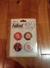 Fallout Nuka Cola Caps Magnets Officially Licensed Rare Vault Tec Vault Boy