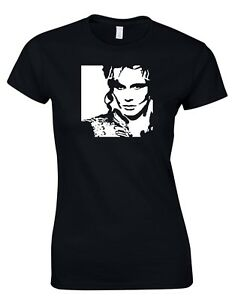 Adam And The Ants Punk ROCK 80s Inspired Music Womens T-Shirt