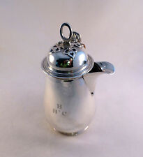 English Sterling London Richard Comyns Syrup? Pitcher Ca 1926-Mono