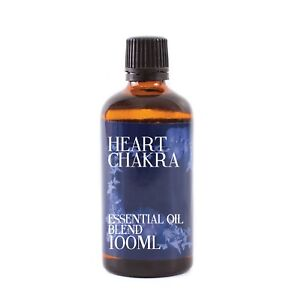 Mystic Moments Corazón Chakra Aceites Esenciales - 100ml (EOB100HEAR)