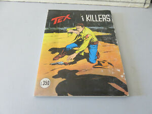 Tex N° 160 Giant 3 Stars - I Killers - Daim Press - L.350 Good Con Marks
