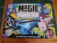 MAGIC MAGICIAN SET 150 MIND BLOWING TRICKS ILLUSIONS COMPLETE VGC