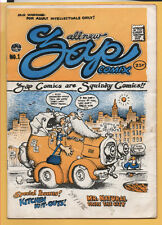 Zap Comix #1 Apex Novelties 1967 R. Crumb 1st printing Plymell, VG 4.0  SCARCE!!