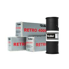 3x Rollei Retro 400s 400 s 120 Rollfilm s/w b/w Schwarz- Weißfilm