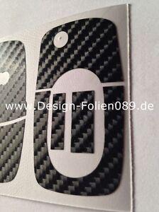 Carbon Schwarz Glanz Schlüssel Audi TT 5B A4 S3 A3 A1 8e S4 8N 8P 8L A2 A6 6B RS