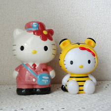Pink Postal Tiger Piggy bank Hello Kitty Japan SANRIO 5.3inch