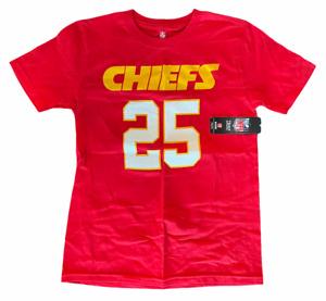 YOUTH KANSAS CITY CHIEFS NFL (JAMAL CHARLES) TEE T SHIRT RED SZ MEDIUM M NWT 🔥
